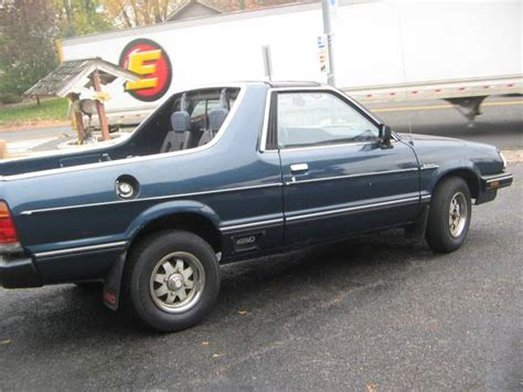 manual cars for sale 1985 subaru brat seat position control 1985 subaru brat v4 manual for sale in springfield new jersey