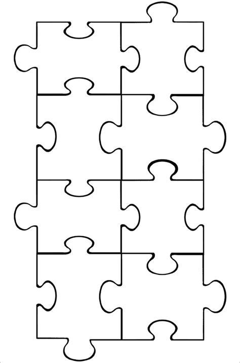 Puzzle Piece Template Puzzle Pieces Pinterest Puzzle Puzzle Pieces Templates