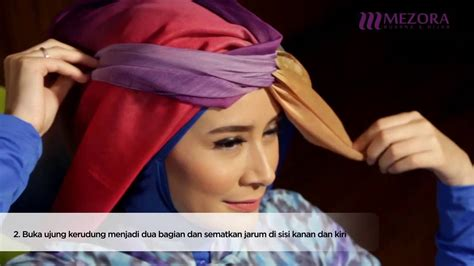 tutorial hijab turban zoya new hijab tutorial simple mezora turban style youtube