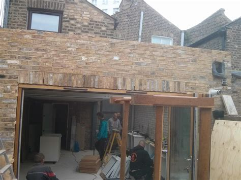 Reclaimed bricks and cladding looking great « Ecoalex