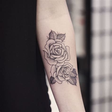 rose tattoo shading 1000 ideas about skin on dot work