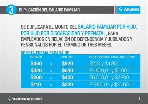 desde cuando se empieza a pagar asugnacion familiar en argentina ayuda financiera para los afectados por los incendios en