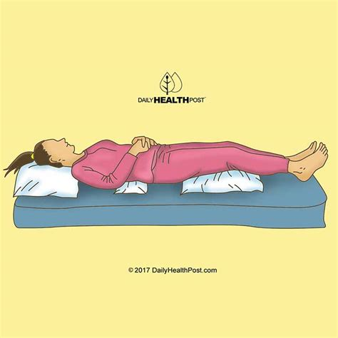 comfortable sleeping positions for lower back pain daily health post what is the right position to sleep for