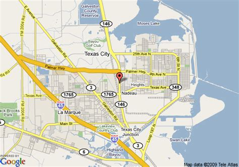 comfort directions map of comfort inn suites texas city