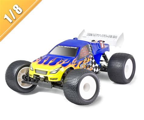 nitro truck 4wd 1 8 scale 4wd nitro powered road truck tpgt 0875