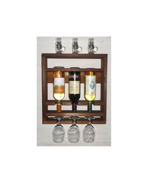 wooden wine rack brown shelf kitchen shelf rustic wine