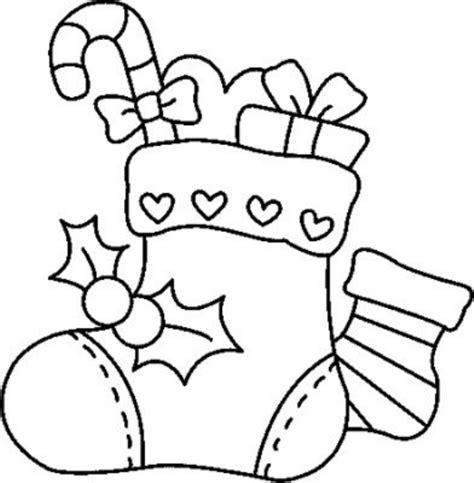 imagenes navideñas para dibujar bota de navideno con dulces para colorear dibujar recortar