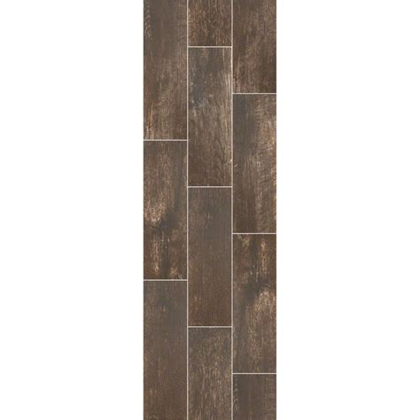 Shaw Channel Plank Stone Gate Wood Look Porcelain Tile 7
