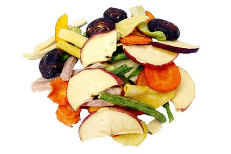 The Kripps Veggie Fruit Chips low temperture vacuum fried vegetable and fruits snacks