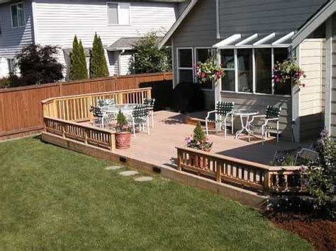 cover concrete patio  wood deck youtube