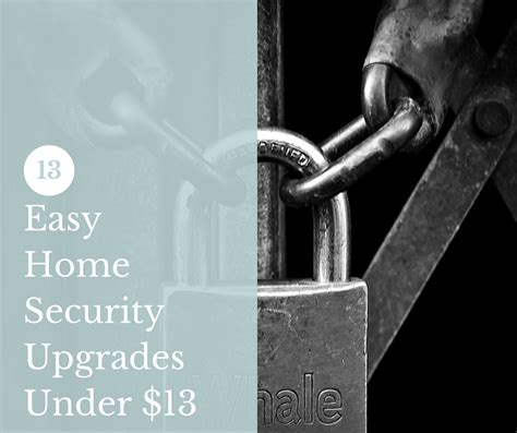13 easy home security upgrades 13 shtf prepping