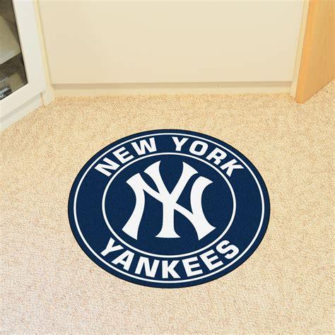 New York Yankees Area Rug New York Yankees Logo Roundel Mat 27 Quot Area Rug
