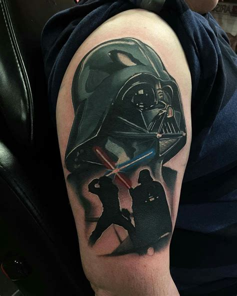 starwars tattoo darth vader wars by j j jackson sponsored by