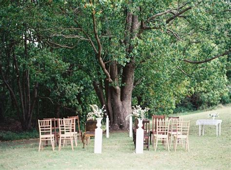 Wedding Ceremony Tree by Southern Wedding Inspiration Polka Dot