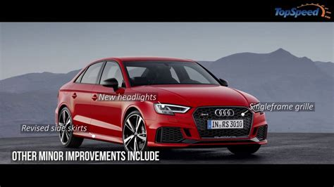 Audi Rs3 0 60 by 2018 Audi Rs3 Sedan Car Review Top Speed