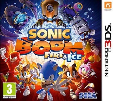 Kaset 3ds Sonic Boom sonic boom nintendo 3ds nintendo