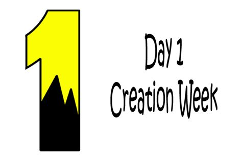 1 week of day gods creation day 1 www pixshark images galleries