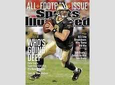 Drew Brees on the cover of Sports Illustrated, magazine ... Garden And Gun Cover