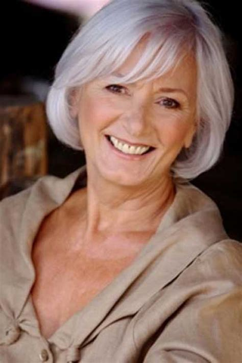 short gray hair models 25 bob hairstyles for older women bob hairstyles 2017