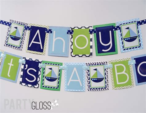 ahoy its a boy decorations 28 images wrappaperscissors