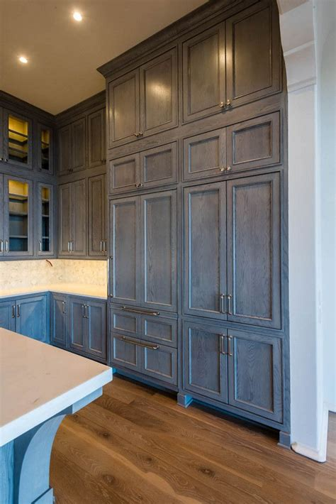 Kitchen Pantry Colors Best 25 Staining Kitchen Cabinets Ideas On
