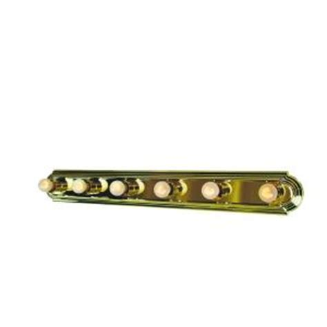 bel air lighting 6 light polished brass vanity bath bar