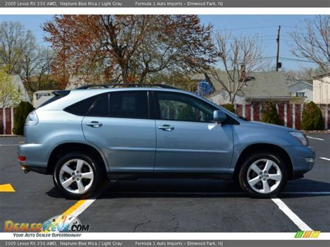 light gray lexus 2005 lexus rx 330 awd neptune blue mica light gray photo