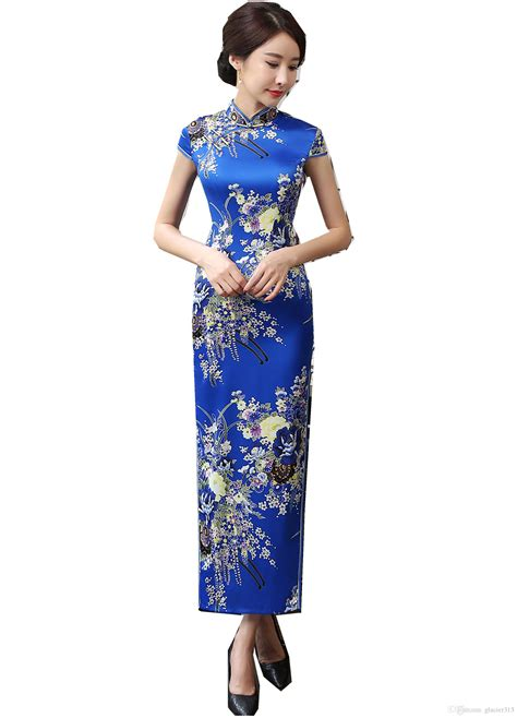 Dress Cheongsam Style shanghai story traditional clothing style