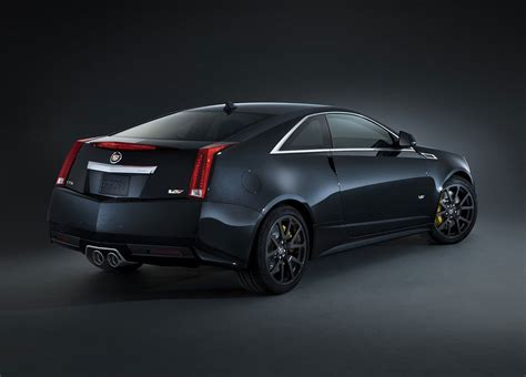 Cts V Black by Cadillac Cts V Black Edition Adds A Like