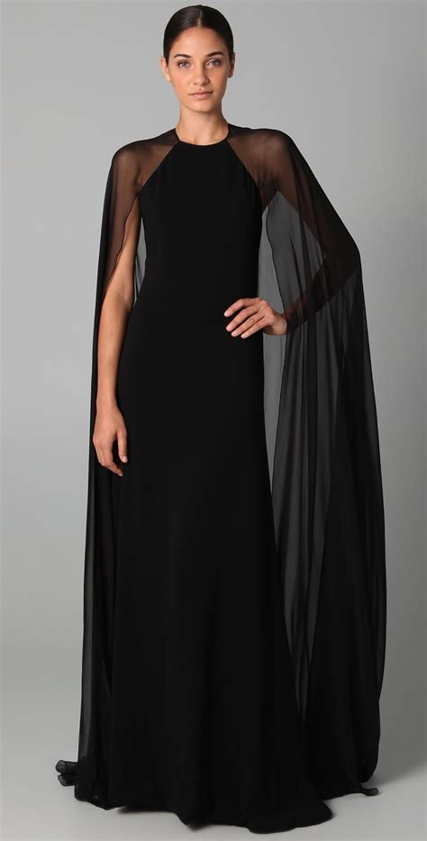 Halter Gown With Ciffon Cape halter gown with chiffon cape halter gown cape and gowns