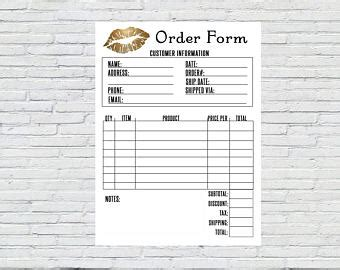 printable younique order forms lipsense senegence business card with how to apply