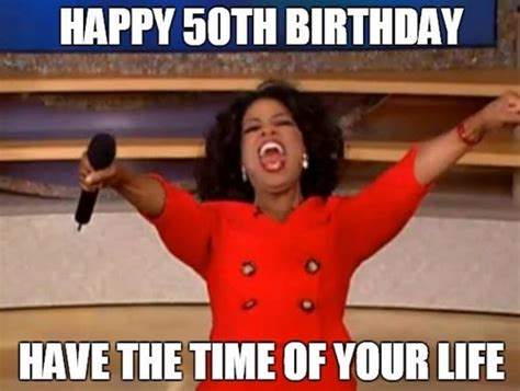 50th birthday meme happy 50th birthday memes wishesgreeting