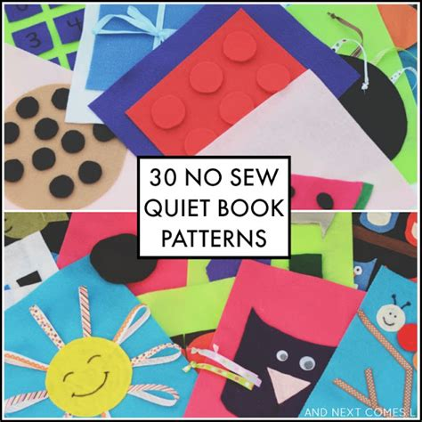 no sew quiet books the sensory spectrum