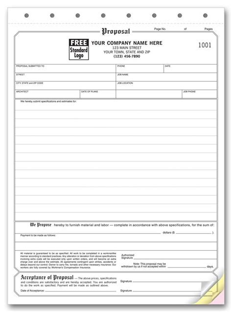 Hvac Proposal Forms Hvac Proposal Form Proposal Pinterest Proposals And Free Printable Hvac Rfp Template