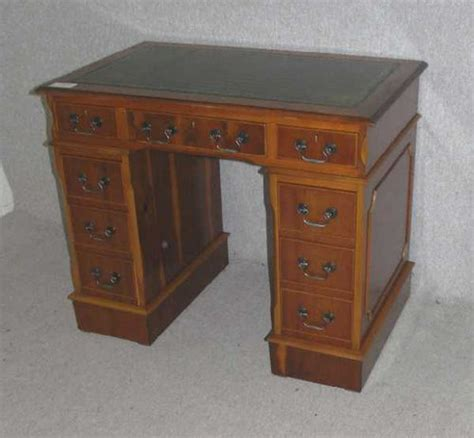 Small Wooden Desk Antiques Atlas Small Yew Wood Desk