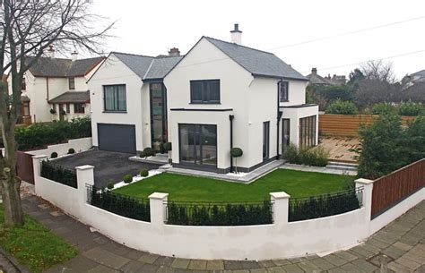 modern house designs uk modern house remodelling modern exterior manchester by fpa architects