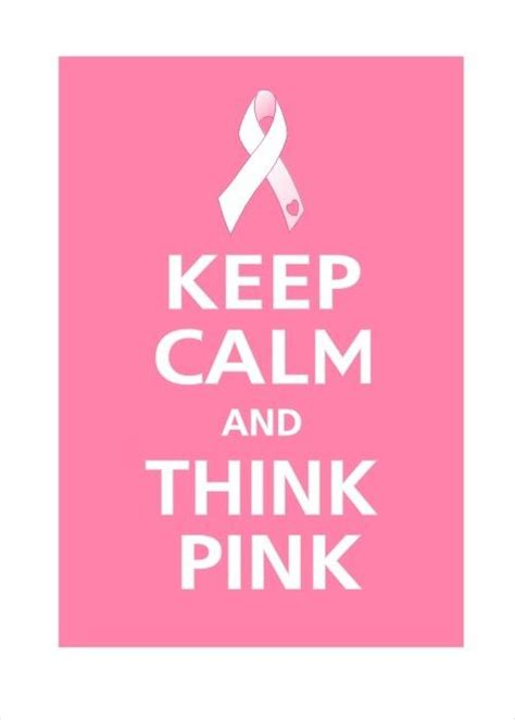 Think Pink For Breast Cancer Awareness by Pin By Justbyou On Think Pink