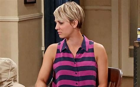why kaley cuoco cut her hair big bang theory star kaley cuoco explains why she