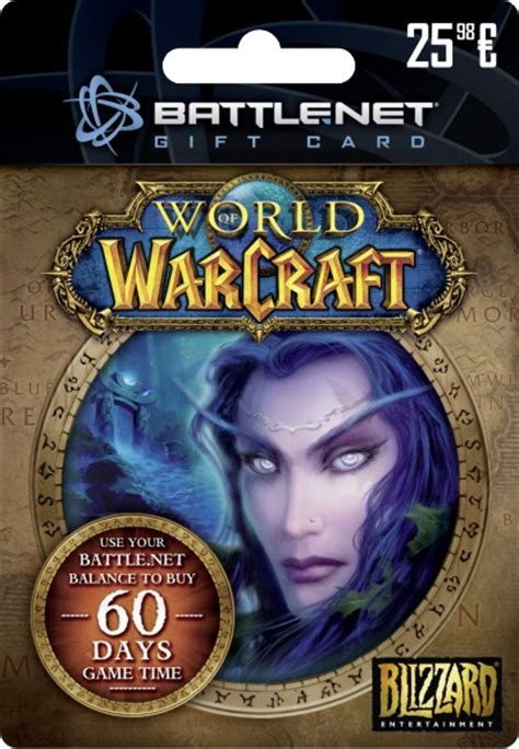 Battle Net Balance Gift Card - pre paid card world of warcraft forums
