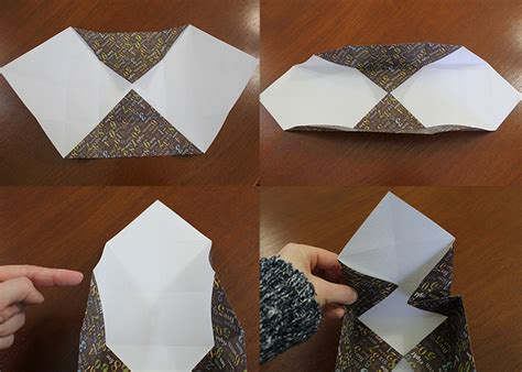 Fold Paper Into Box - folded paper organizing box origami tutorial woo jr