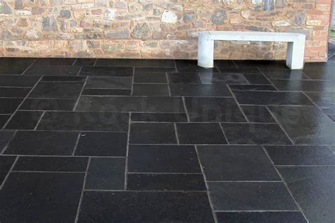 Black Limestone Patio Slabs by Black Limestone Calibrated Sawn Edges Paving Slabs