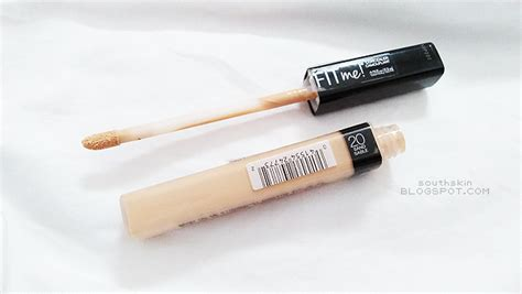 Maybelline Fit Me Di Counter south skin maybelline fit me concealer 20 sand