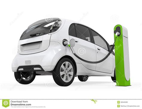 electric cars charging charging electric car clipart