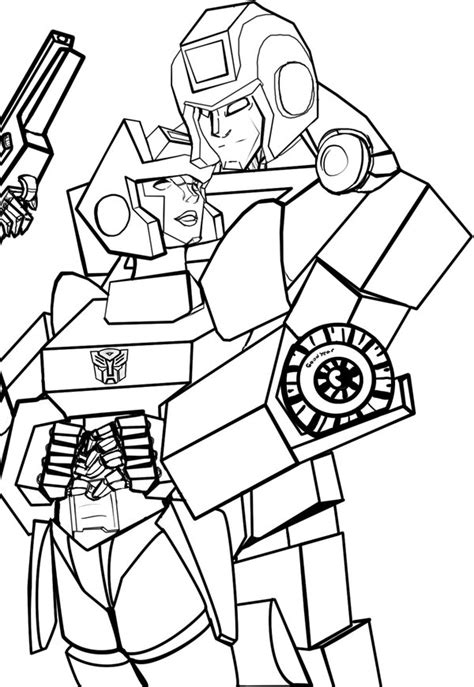 ironhide transformers coloring pages 2011 kids coloring