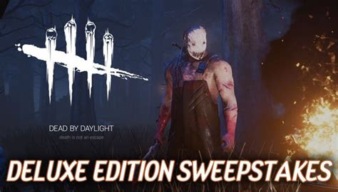 Play Dead Sweepstakes - dead by daylight deluxe edition sweepstakes mmorpg com