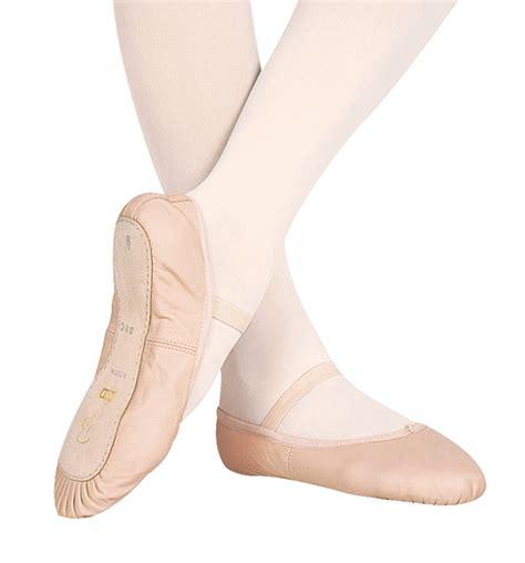 ballet slipper toddler quot dansoft quot leather sole ballet shoes ballet