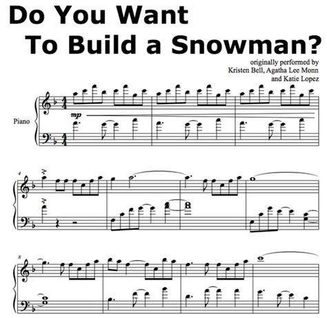 tutorial piano to build a home frozen do you wanna build a snowman piano sheet music easy