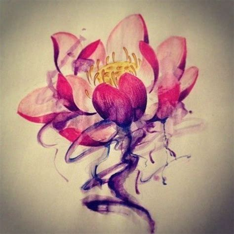 lotus flower tattoo color meaning a lotus flower