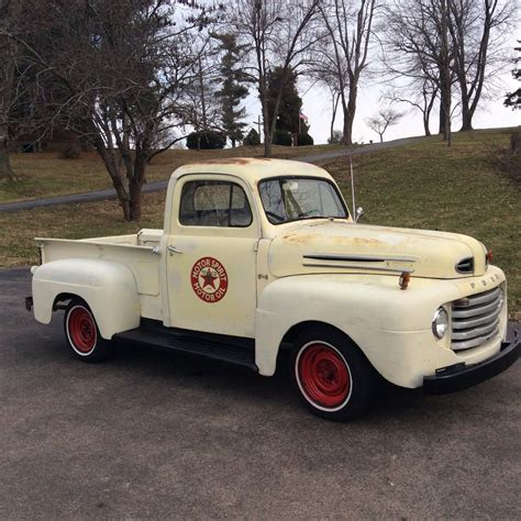 ford truck 1950 ford f1 pickup truck