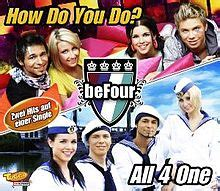 befour how do you do all 4 one song